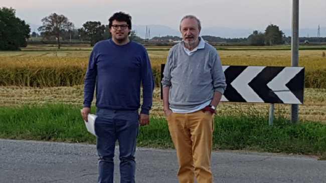 Luca Dal Bello sx e Mario Finotti dx