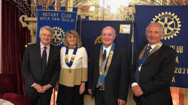 Rotary Orta InterclubNovara Ferruccio DeBortoli3
