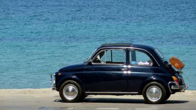 auto storica cinquecent