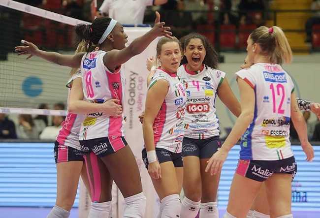 Igor Volley Calendario.Novara 24 News Il Quotidiano On Line Di Novara Reso Noto