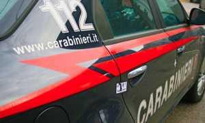 carabinieri scritte auto fianco 1