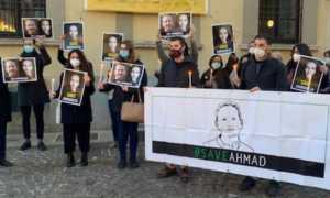 Petizione protesta Ahmadreza