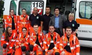 ambulanza vergante volontari