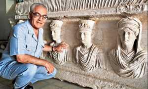 archeologo palmira