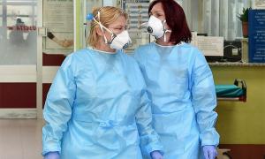 covid infermiere mascherine