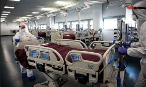 covid sala letto infermieri spostamento