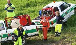 protezione civile pick up